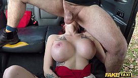 Fake Taxi British Babe Licks Ass and Does Anal