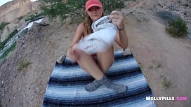 Big Booty Amateur Girl Public Creampie Outdoor Fucking - Molly Pills - Amazing Real Girlfriend gets Tight Pussy Fucked POV - Awesome POV Blowjob Perfect Girlfriend Experience