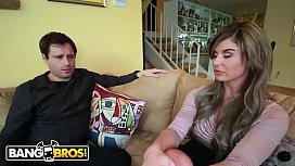 BANGBROS - Interracial Cuckolding Session With Chloe Chaos On Monsters Of Cock