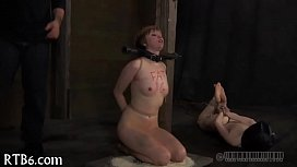 Intense agony for slaves