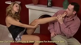 Cindy Hope Gives A Great Footjob