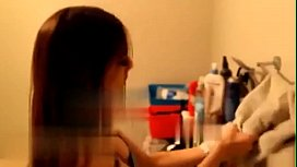 Sis catches step brother jerking off and helps (whats her name?)