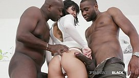 PrivateBlack - Hot Young Lady Dee Gets Dark Dicked By 2 BBCs