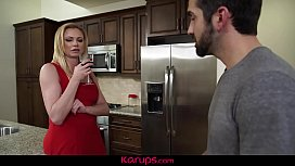 Fake Breasted Mature Babe Briana Banks Takes Down Her Prey