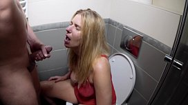 Human Toilet.  Puke Facefuck and Piss to mouth with Helpless drunk Blond Hoe