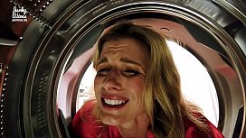 Fucking My Stuck Step Mom in the Ass while she is Stuck in the Dryer - Cory Chase