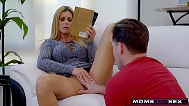 Hot milf fucked by young stud