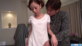 Passionate sex with Japanese girlfriend Yuria Mano - More at 69avs com