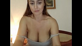 milfy model on chaturbate gets naked and show her tits and pussy : mis eva