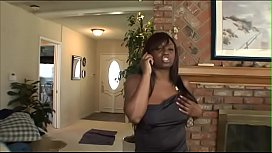 Gorgeos chocolate beauty Jada Fire helps couple of white halftards to vent their spleen