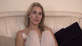 British Blonde is hypnotized by Lex and made into a living doll.