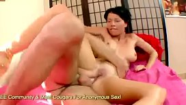 Mademoiselle Justine Has Asshole Gaped By Thick Cock