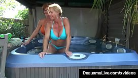 Big Boobed Cougar Deauxma gets her mature mommy muff licked & suckled by hot milf Brooke Tyler as these sexy older women get some pussy love on cam! Full Video & Deauxma Live  DeauxmaLive.com!