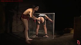 Ms. Leader gets punished about to uses Master's property.