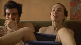 Sex and full frontal nudity from the movie The Zone.  Sophia Takal and Kate Lyn Sheil get nude in a game of naked twister.