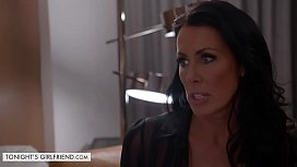Tonights Girlfriend Reagan Foxx pretends to be mommy for her rich client in his hotel room