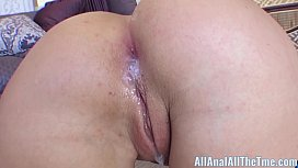 Blonde Hot Teenager Candace Dare Gets Pummelled In the Butt!