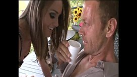 Doubled over and buggered by sadic Rocco Siffredi