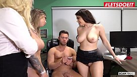 LETSDOEIT - Somebody's Gonna Get Scammed Bitches! (Karma Rx & Valentina Nappi)