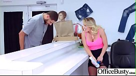 Hardcore Sex In Office With Huge Boobs Girl (Cali Carter) vid-07