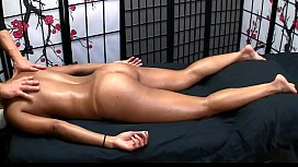 Sexy Asian gets Erotic Massage and Happy Ending