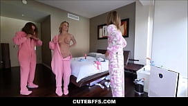 Fucking Both My Sisters Sexy Teen Bffs Shyla Ryder And Liza Rowe At Her Slumber Party POV