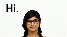 MIA KHALIFA - Enjoy An Intimate Tour Of My Lovely, Young and Supple Vessel