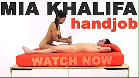 MIA KHALIFA - This Lebanese Babe Knows How To Jerk Off A Big Cock