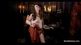 Jay Taylor as a medieval whore