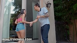 Sneaky Sex - (Alex Legend, Emily Willis) - Naughty At The Neighbors - Reality Kings