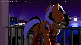 Hot Pony from MLP make love on the beach