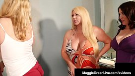 Huge Boobed Big Butt Maggie Green stuffs her face with step mother, Karen Fisher & her taboo Step Daughter Joslyn Jane in this hot family threesome! Full Video & Maggie Live @ MaggieGreenLive.com!