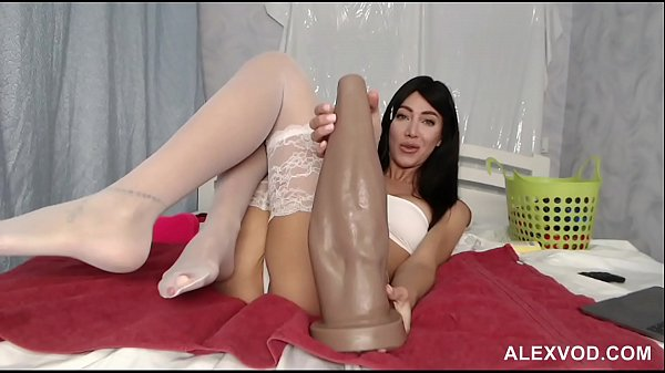 HKJ insert 50cm hand replica in her gaping anus hole and prolapse