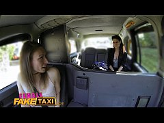 Female Fake Taxi Hungarian babe gets down and dirty