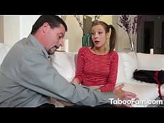 Stepdad Teaches Her How to Fuck