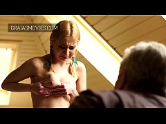Petite young slave punished