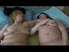 Chubby old Granma and fun OLDNANNY