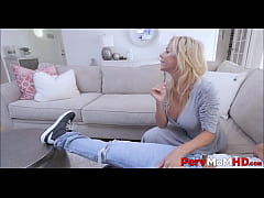 Hot MILF Step Mom Alexis Fawx Fucks Step Son While His Buddy Watches