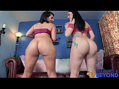 Huge Ass Teens Mandy and Val fuck Laz Fyre