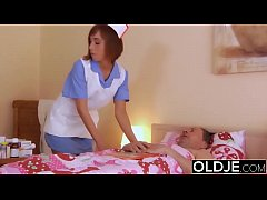 Old Young Porn. Grandpa Fucks Teen Nurse She gives the best blowjob swallow