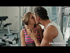 Blonde Sarah Kay Gets Assfucked in the GYM...