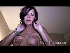 Wrinkly milf Fucked by mature black guy