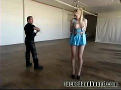 Teen Banged and Bound!