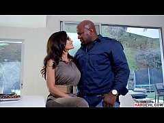 Lisa Ann craving for Prince's Big Black Cock