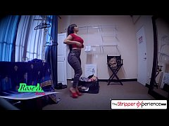 Spizoo - Rose Monroe is punished by a huge cock, bubble butt & big tits