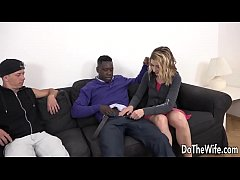 Married Floozy Elissen Sweet Takes a Big Black ...