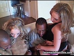 Two hot sluts riding gifted black guy