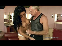Stepson and Stepfather get sucked off by Melissa Love