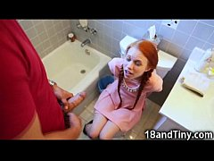 Teen So Small She Got Stuck in the Toilet!