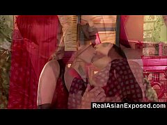 RealasianExposed - Asian Cutie Plowed By a Big Man